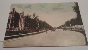 POSTCARD,MILWAUKEE,WIS.,LAKE SHORE DRIVE 1910  $10