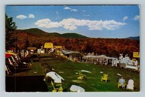 Lake Placid NY-New York, Sterling Alaska Fur and Game Farms, Chrome Postcard
