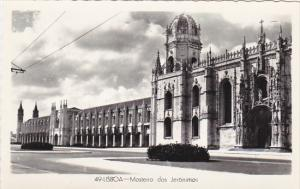 Portugal Lisboa Mosteiro dos Jeronimos Real Photo