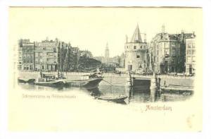 Amsterdam, Netherlands, 1890s; Schreyerstoren en Gelderschekade