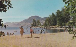 Boating, swimming and camping, Skaha Lake, Penticton, B.C.,  Canada, 40-60s