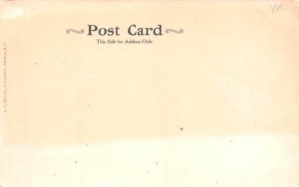 Bennett Homestead Angola, New York Postcard