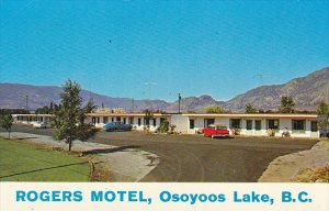 Canada Rogers Motel Osoyoos Lake Osoyoos British Columbia