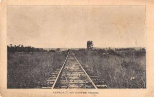 Coffee Creek Railroad Tracks Scenic View Illinois? Postcard JD228033