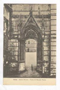 Siena, Italy, 00-10s Antico Duomo - Porta di Niccolo Pisano