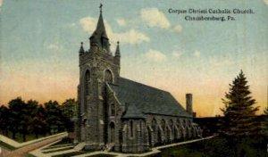 Corpus Christi Catholic Church - Chambersburg, Pennsylvania