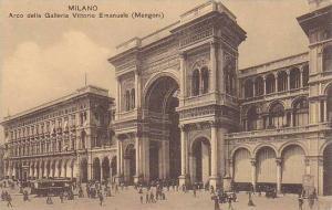 Arco Della Galleria Vittorio Emanuele (Mengoni), Milano (Lombardy), Italy, 19...