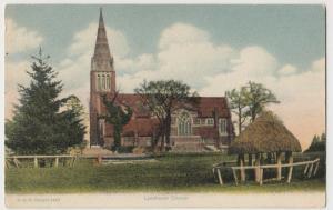 Hampshire; Lyndhurst Church PPC By FGO Stuart, 1912 PMK