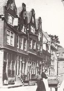 Kattenburgerstraat Mixed Racial Family Holland Amsterdam in 1894 Postcard