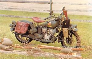 Crome Era (1939 to Presant Day) World War II Motorcycle 1944 Indian Model 741