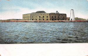Fort Rodman, New Bedford, Massachusetts, Early Postcard, Unused