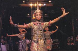 Thailand Bangkok Dancers At Dusit Thani's Sukhothai Restaurant
