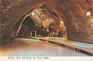 Idaho Shoshone Ice Cave Gothic Arch