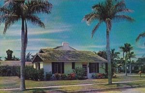 Florida Sarasota Gardens Scene At Florasota Gardens
