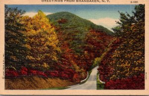 New York Greetings From Shandaken 1959