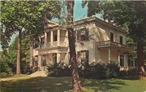 Crawfordsville Indiana~Henry Lane Place Mansion~1860 Republican Party Chair~1963
