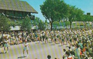 Michigan Frankenmuth Bavarian Festival High School Band In Lederhosen