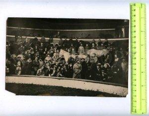 230364 USSR LENINGRAD Circus Ciniselli HORSES 1920-years photo