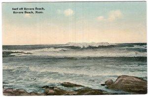 Revere Beach, Mass, Surf off Revere Beach