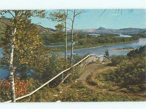 Pre-1980 RIVER SCENE Campbellton New Brunswick NB AE6054
