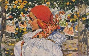AS: Joza Uprka, Vazani Satku, Do Kostela, Hroznolhotanka, Czech Republic, 190...