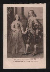 059509 GERMAN Prince Willem II by Van Dyck Vintage PC