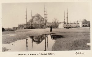 RP: Istanbul , Turkey , 1930s ; Mosque of Sultan Achmed