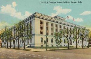 DENVER , Colorado , 1930s ; Customs house