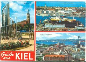 Germany, Grusse aus KIEL, used Postcard