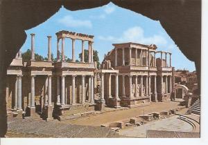 Postal 032257 : Merida. Escena del Teatro Romano