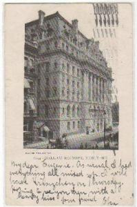 Hall of Records NYC NY 1906
