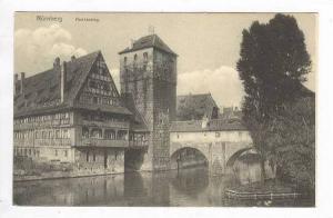 Nurnberg, Kenkersteg, Germany, PU-1908