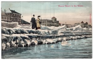 Revere Beach in the Winter