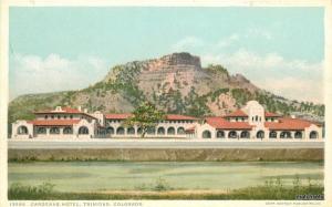 c-1910 Cardenas Hotel Trinidad Colorado Phostint Detroit Publishing 7733