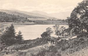 uk16948 lily loch  dunoon scotland real photo uk