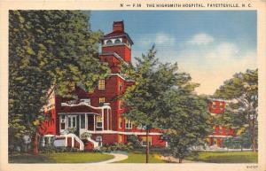 12018  NC  Fayettesville    1940's  The Highsmith Hospital