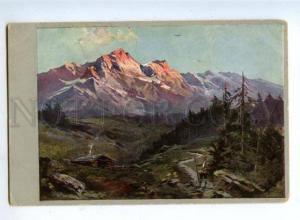 159596 HUNT Hunter Mountain vintage colorful PC