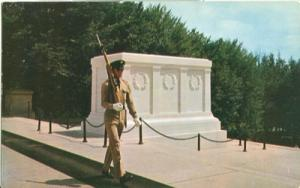 Tomb of the Unknown Soldier 1950s unused Postcard