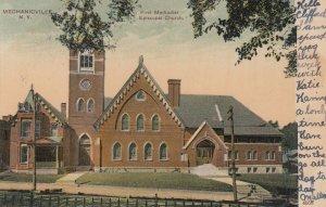 MECHANICVILLE , New York , PU-1907 ; 1st M.E. Church