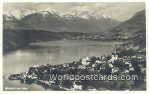 Millstatt am See Germany, Deutschland Postcard  Millstatt am See