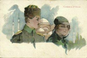 turkey, CONSTANTINOPLE, Costumes d'Orient (1924) Moïse Jsraelowitz 13139