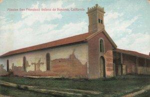 CALIFORNIA, 1900-10s; Mission San Francisco Solano de Sonoma