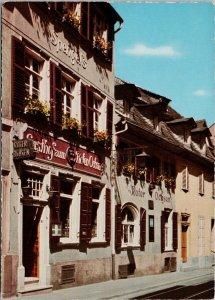 Heidelberg Zum Roten Ochsen Germany Unused Vintage Postcard C4