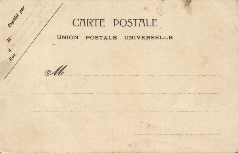 china, PEKING PEIPING, Italian and French Legation 1899 Boxer Rebellion Postcard