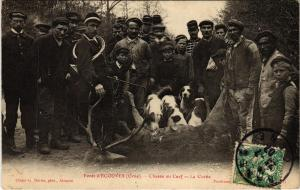 CPA Foret d'Ecouves Orne - Chasse au Cerf (800461)