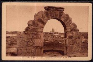 Portique du Temple de Baal,Thuburbo Majus,Tunisia BIN