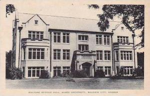 Kansas Baldwin Mulvane Science Hall Baker University Albertype