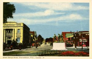 Canada - Prince Edward Island, Charlottetown. Great George Street