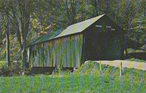 Covered Bridge Old Covered Wooden Bridge Known As The Cilley Bridge Tunbridge...