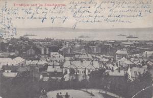 NORWAY / NORGE , PU-1911 , Trondhjem seet fra Smaabjergene